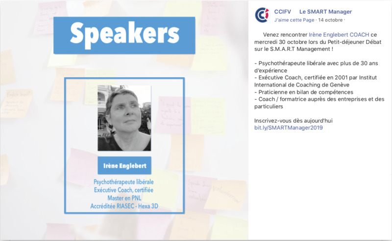 Conférence - Coaching - manager - iecoach.be